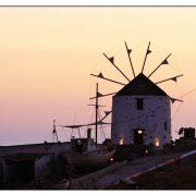 windmill-koufonissia-dusk